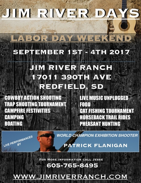 Jim River Days - Labor Day Weekend 2017