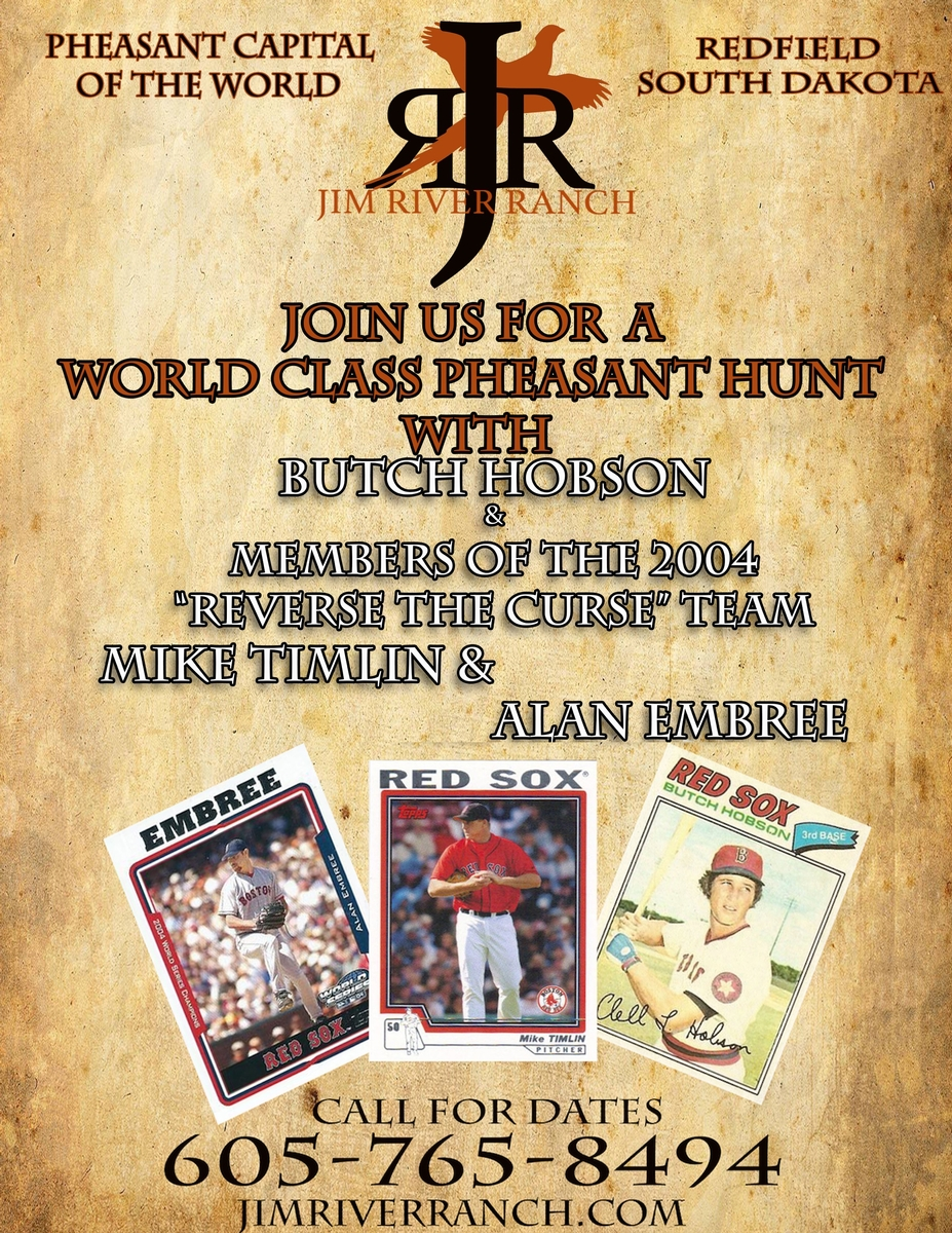 Join Butch Hobson Former Red Sox Player